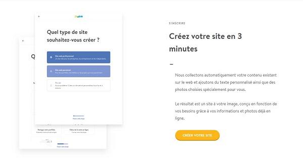 Avis Jimdo - Création site rapide