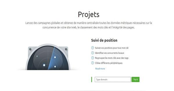 Avis SEMrush - Analyse Projet