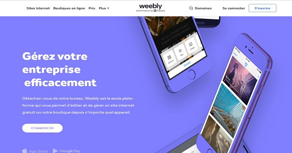 Avis Weebly - Responsive