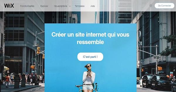 meilleurs éditeurs de site web gratuit-2019-Wix