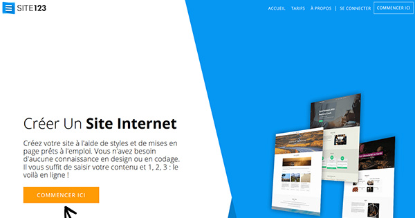 Avis Site123