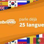 Webnode Langues