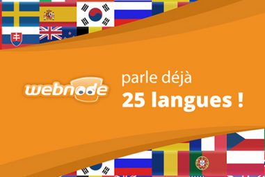Quelles sont les langues disponibles chez Webnode ?