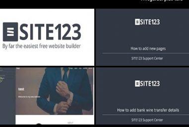 Site123 est-il simple à prendre en main ?